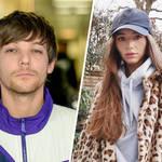 Louis Tomlinson was spotted on girlfriend Eleanor Calder's Insta