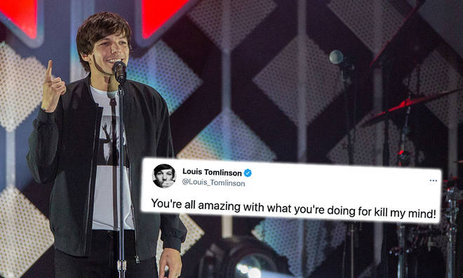 Louis Tomlinson has thanked fans for their support
