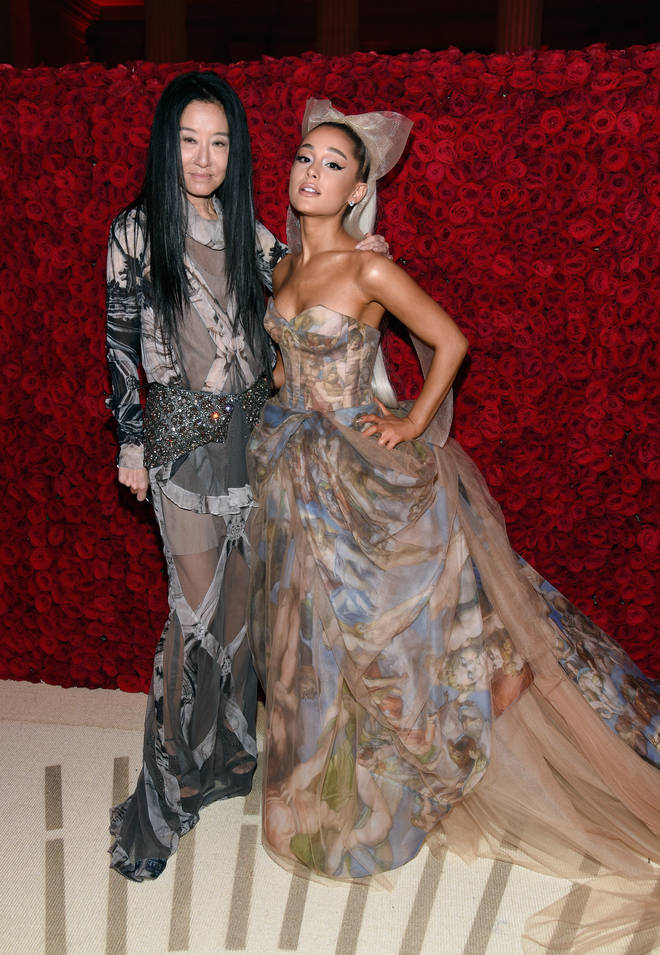 Ariana Grande wore another Vera Wang custom gown for her nuptials