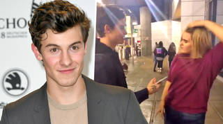 Shawn mendes was shocked by a fan snatching her wig in front of him