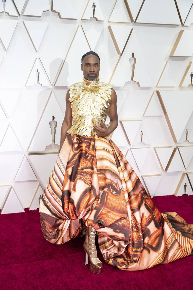 Billy Porter defies gender norms with dazzling red carpet looks