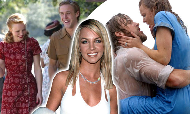 Britney Spears almost played the role of Allie Hamilton in The Notebook