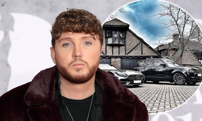 James Arthur lives in a countryside mansion