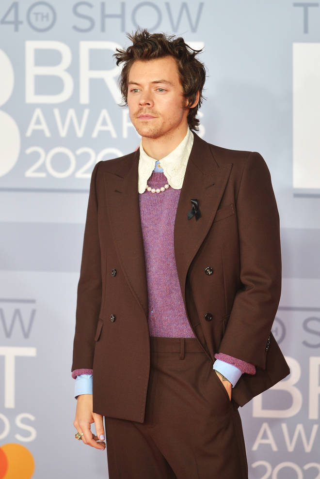 Harry Styles champions that clothes have no gender
