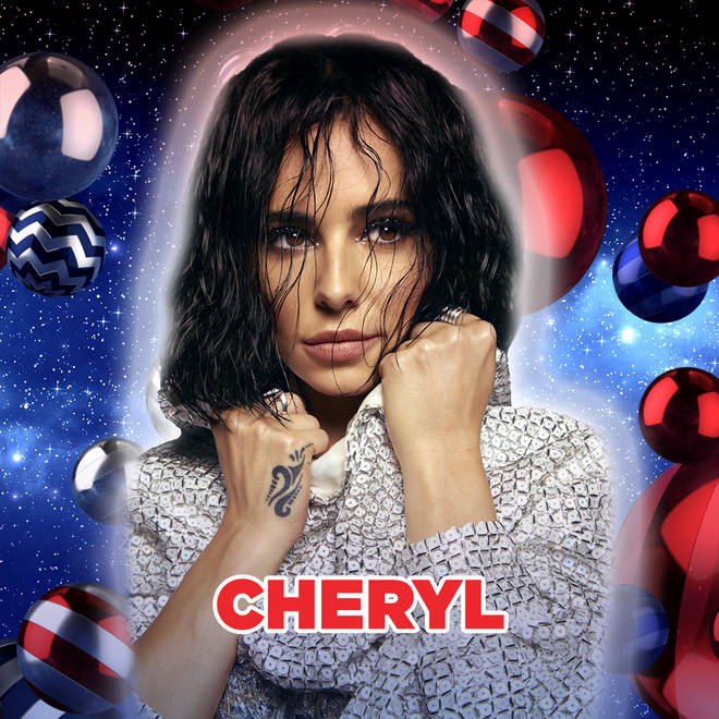 Cheryl at Capital's Jingle Bell Ball with Coca-Cola
