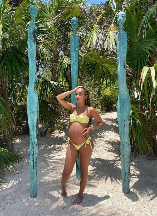 Leigh-Anne Pinnock is glowing in new pregnancy pictures