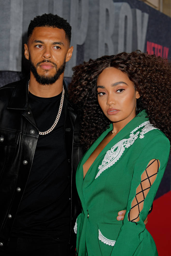 Leigh-Anne Pinnock and fiancé Andre Gray