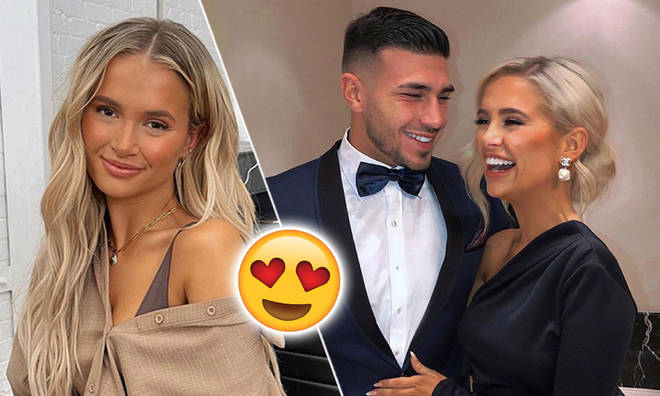 Molly-Mae Hague showed off her birthday bracelet from Tommy Fury