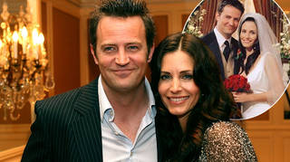 The actors who play Monica Geller and Chandler Bing are apparently related in real life