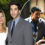 David Schwimmer and Jennifer Aniston had feelings for each other away from Friends