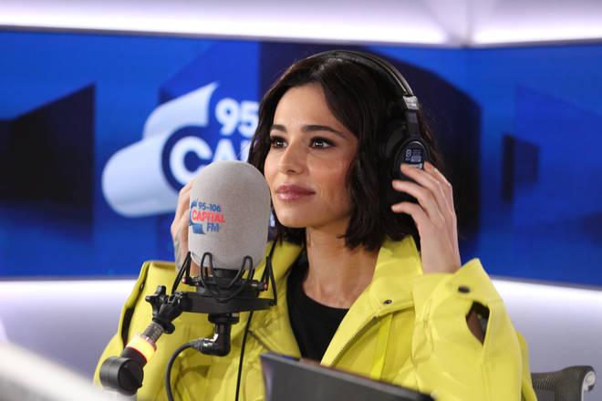 Cheryl in the Capital studio