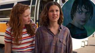 Stranger Things 4 were pictured filming at a cemetery