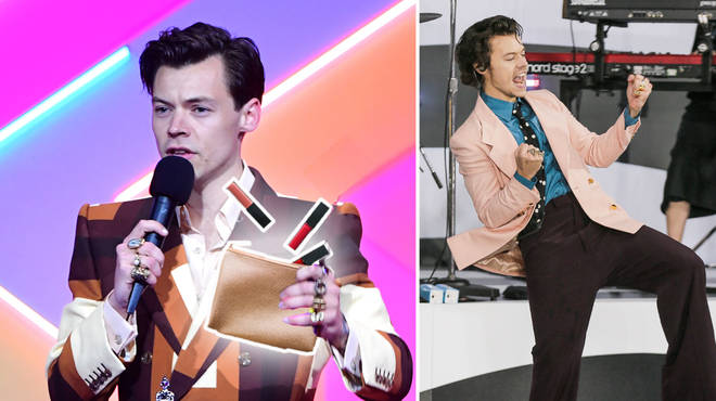 Harry Styles is said to be launching a makeup line