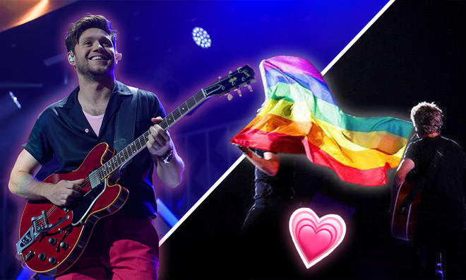 Niall Horan supports the LGBTQI+ community