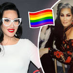 Michelle Visage educated followers on Pride flags