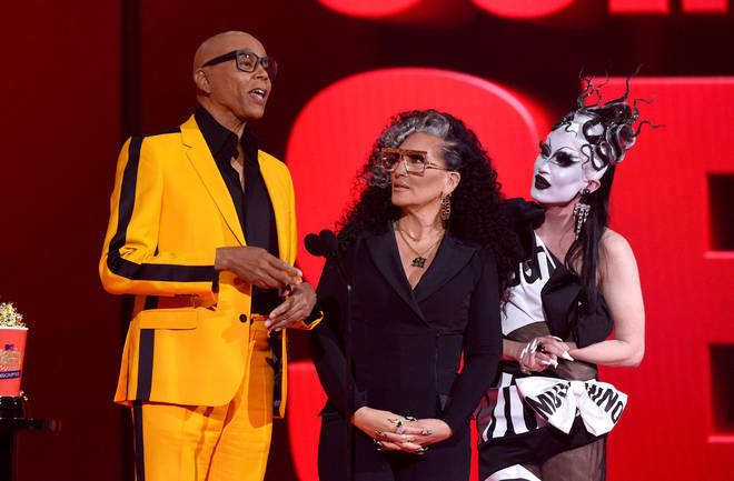 Michelle Visage and longtime friend RuPaul support the LGBTQI+ community through their work on Drag Race