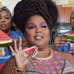 Lizzo has tried the latest viral TikTok trend where people are pairing watermelons with mustard