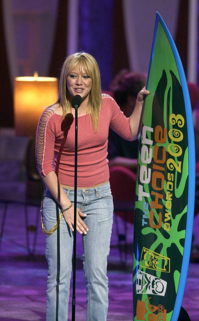 Lizzie McGuire at the 2003 Teen Choice Awards