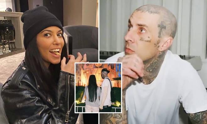 Kourtney Kardashian and Travis Barker sparked engagement rumours