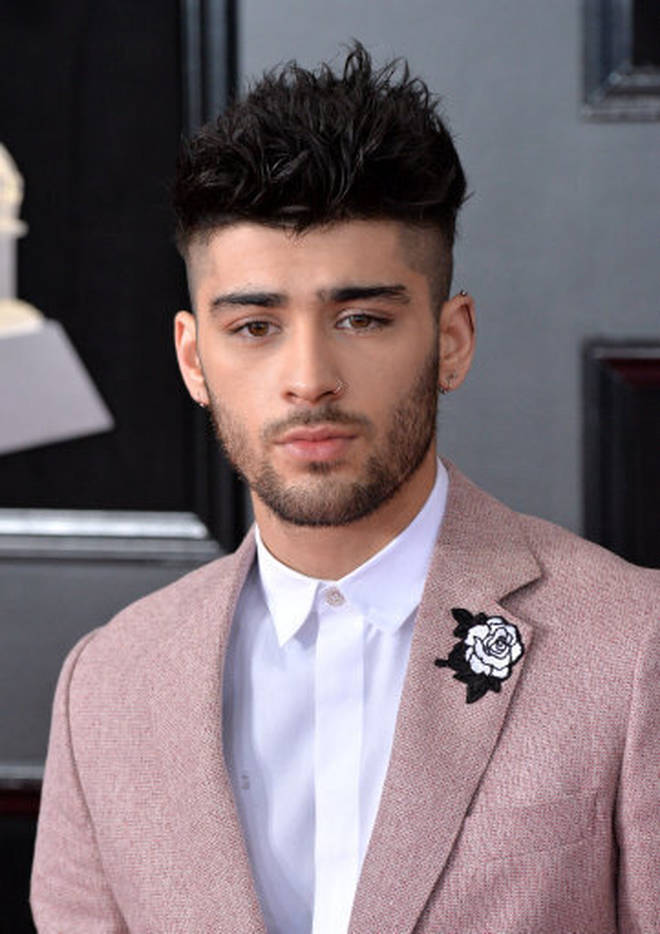 A passer-by is thought to have picked on Zayn Malik outside a bar