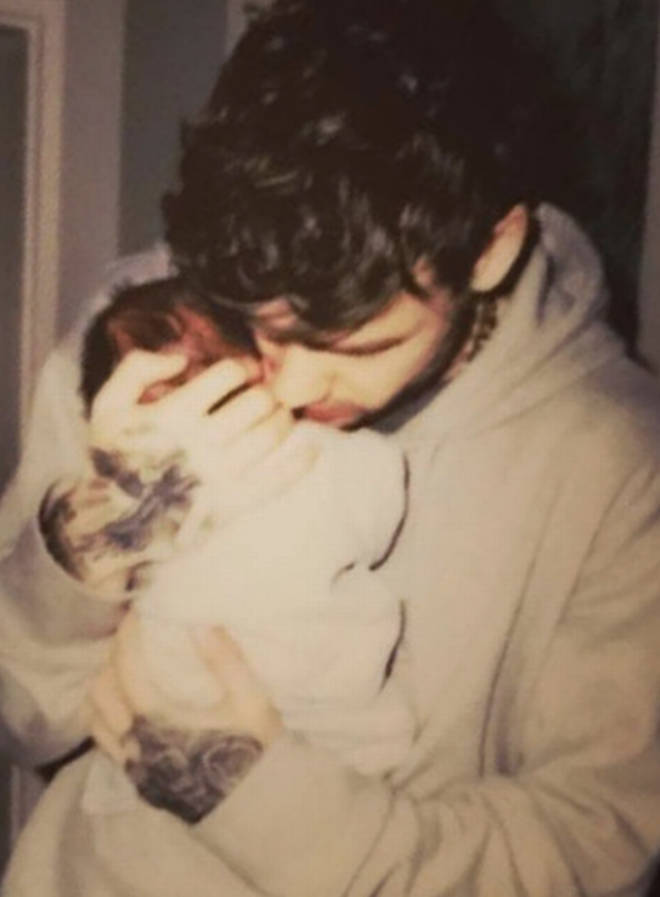 Liam Payne rarely shows photographs of his son online