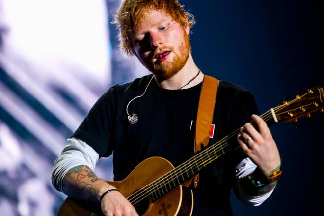 Ed Sheeran has a circle of showbiz friends to be envious of
