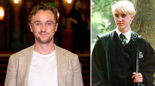 Tom Felton put his Slytherin robes back on