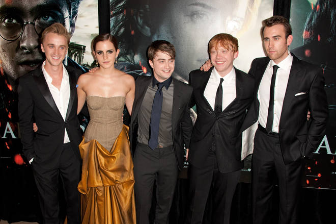 The Harry Potter cast are still good friends to this day
