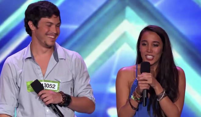 Sierra Deaton appeared on the X Factor in 2013 with her now ex Alex