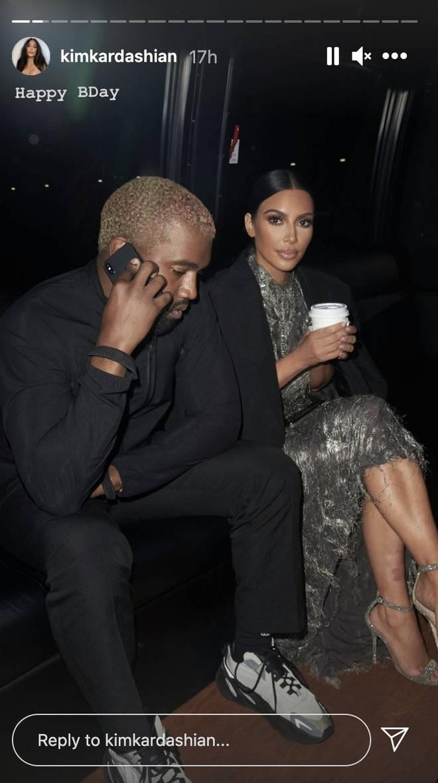 Kim Kardashian postou fotos com o ex Kanye West em seu aniversário