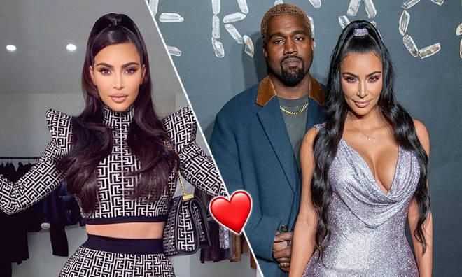 Kim Kardashian told Kanye West she loves him 'for life' in birthday post