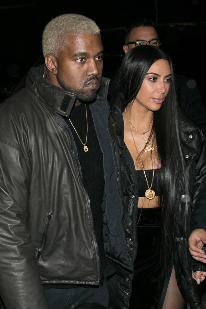Kim Kardashian and Kanye West split in 2020