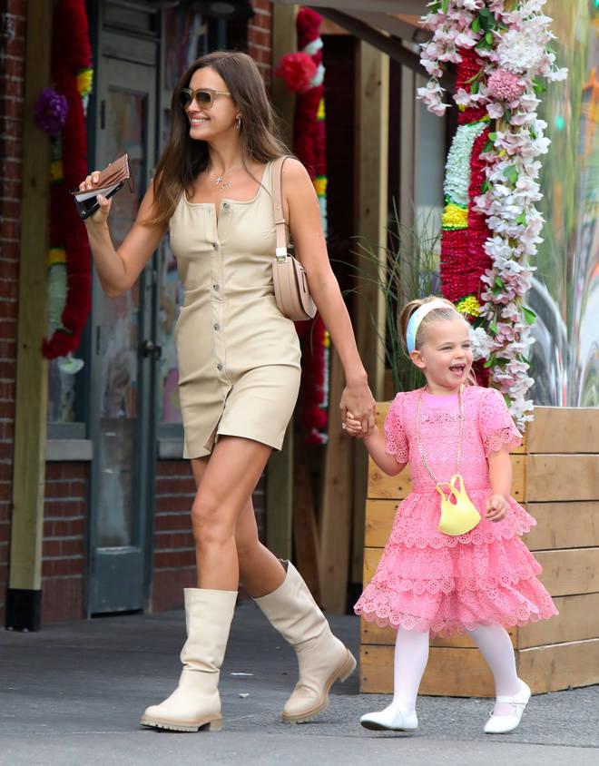 Irina Shayk shares daughter Lea with ex Bradley Cooper