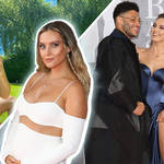 Perrie Edwards posts a beautiful pic of her growing bump