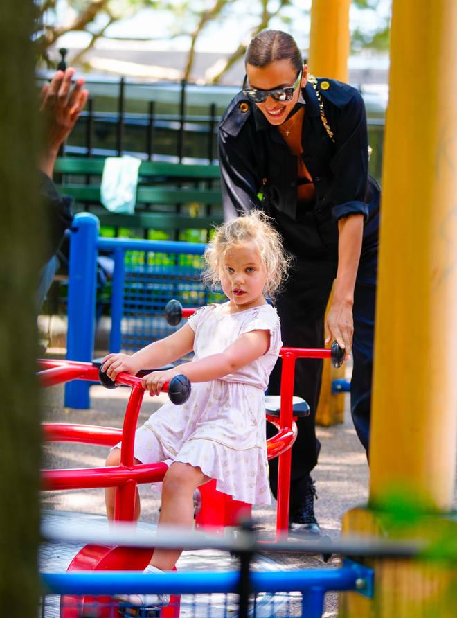 Irina Shayk and Bradley Cooper share daughter Lea