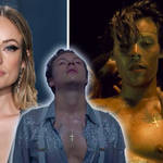 Olivia Wilde is borrowing more of Harry Style's music video necklaces