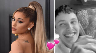 Ariana Grande shared a rare video of husband Dalton Gomez