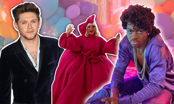 Celebrities have been posting their Pride celebrations online