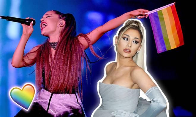 Ariana Grande announced partnership with transgender youth charity, transanta