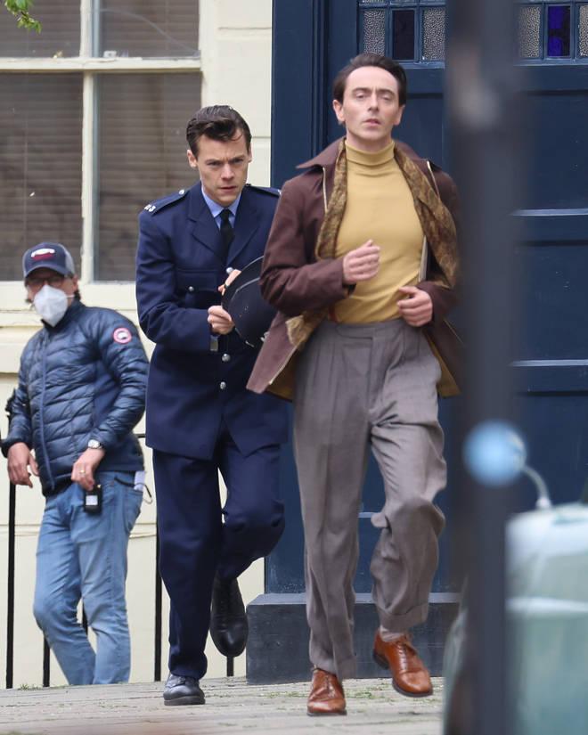 Harry Styles y David Dawson hacen de amantes en la pantalla de My Police