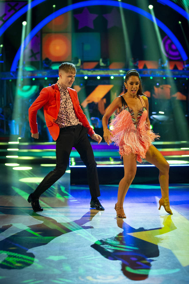 HRVY and Janette Manrara impressed fans on Strictly