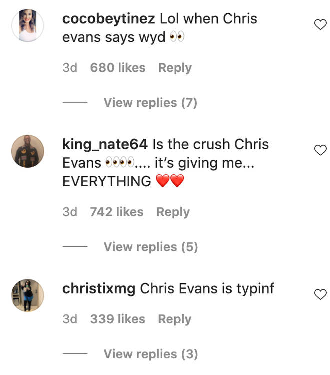 Lizzo's fans are super invested in her crush on Chris Evans