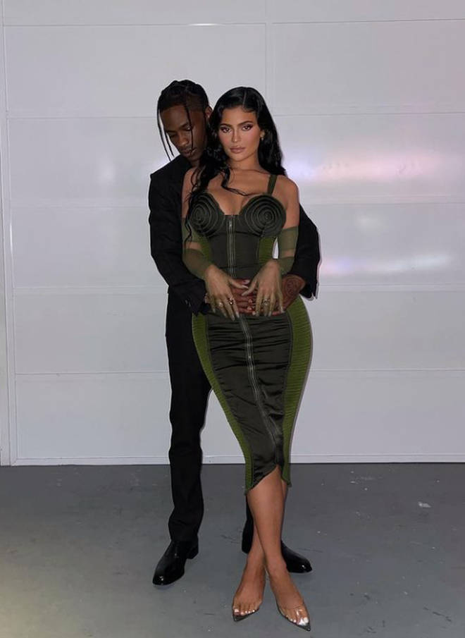 Kylie Jenner confirmed she's back with Travis Scott with this picture