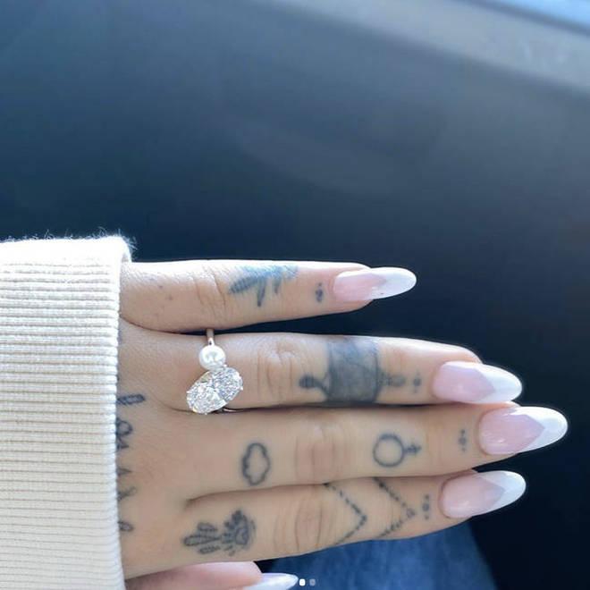 Ariana Grande's stunning engagement ring