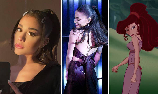 Ariana Grande has fans convinced she's set to play Megara