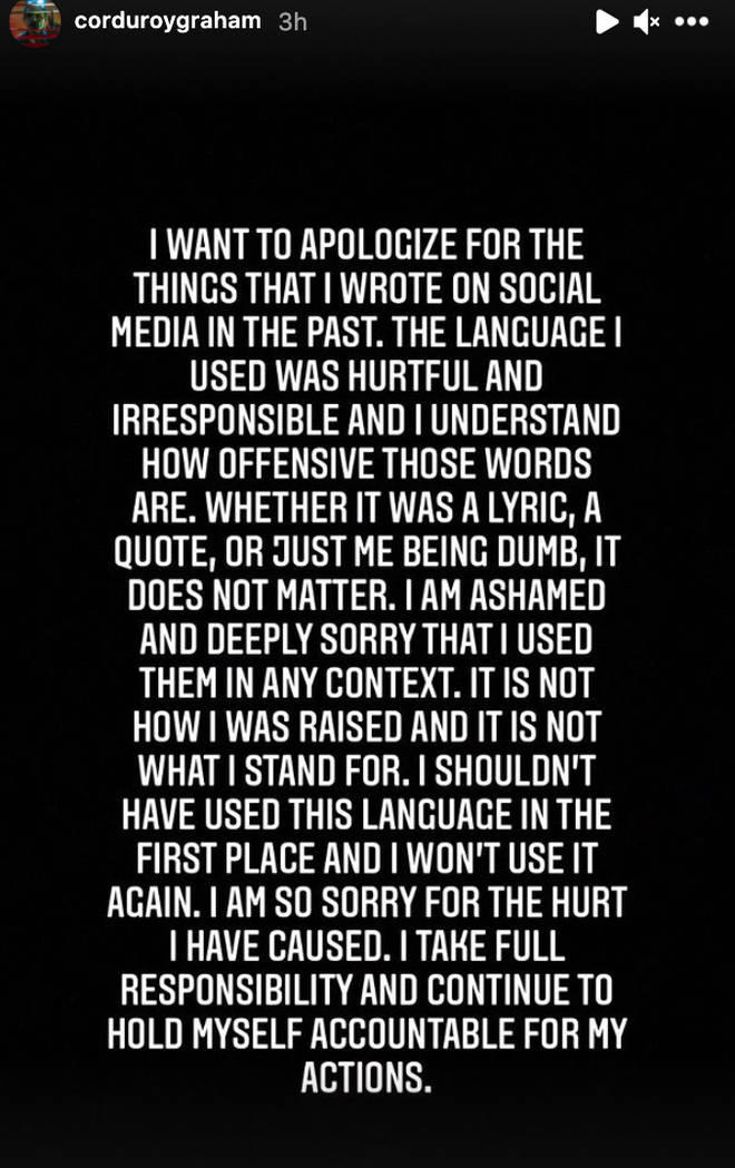 Matthew Tyler Vorce's statement
