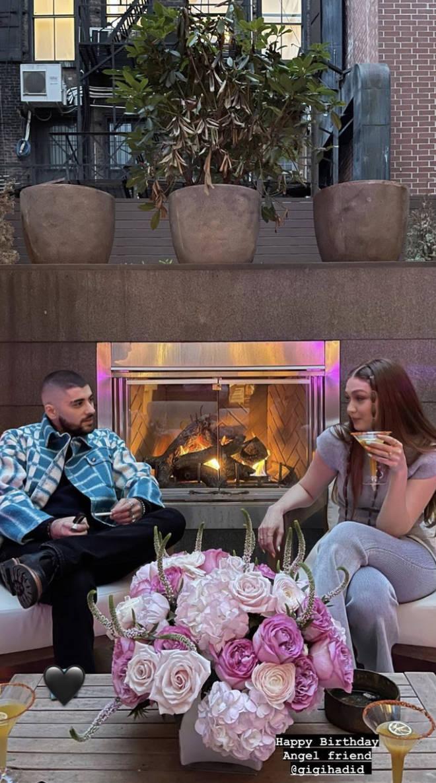 Fans think Zayn Malik 'proposed' to Gigi Hadid on her birthday