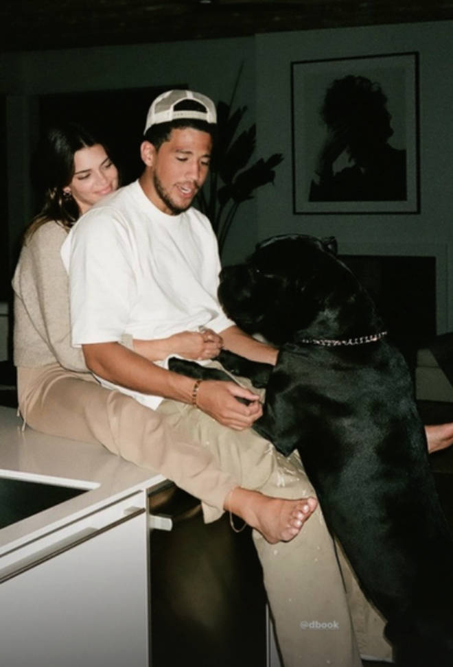 Kendall Jenner only rarely shares pictures with boyfriend Devin Booker