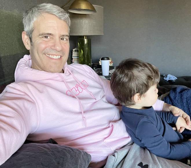 Andy Cohen has a son named Benjamin