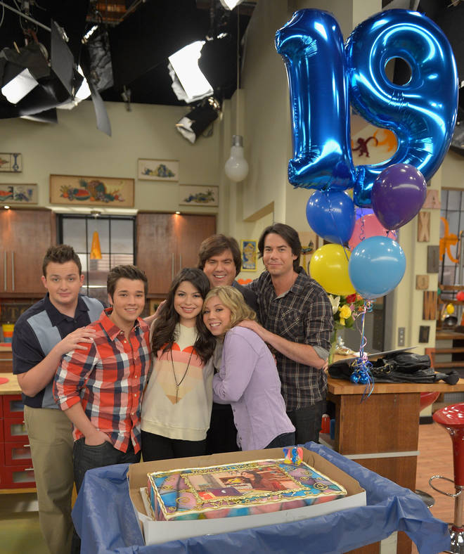 iCarly aired on Nickelodeon from 2007 to 2012